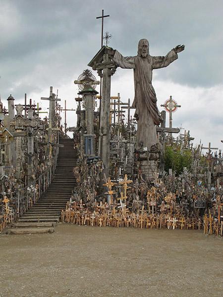 La colline des croix