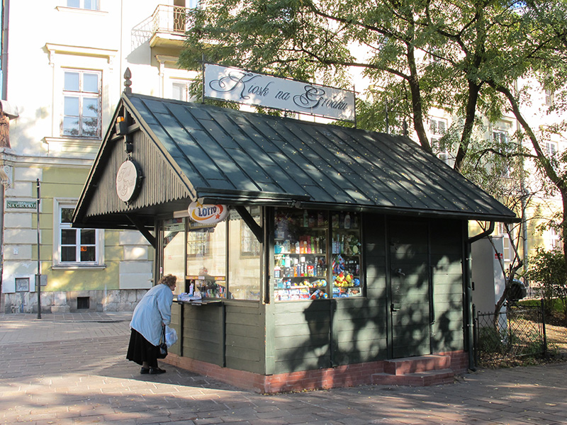 Kiosque à journaux de Cracovie