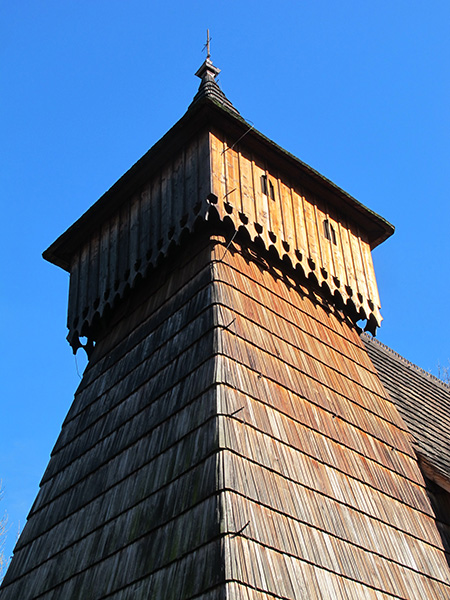 Eglise en bois proche de Zakopane