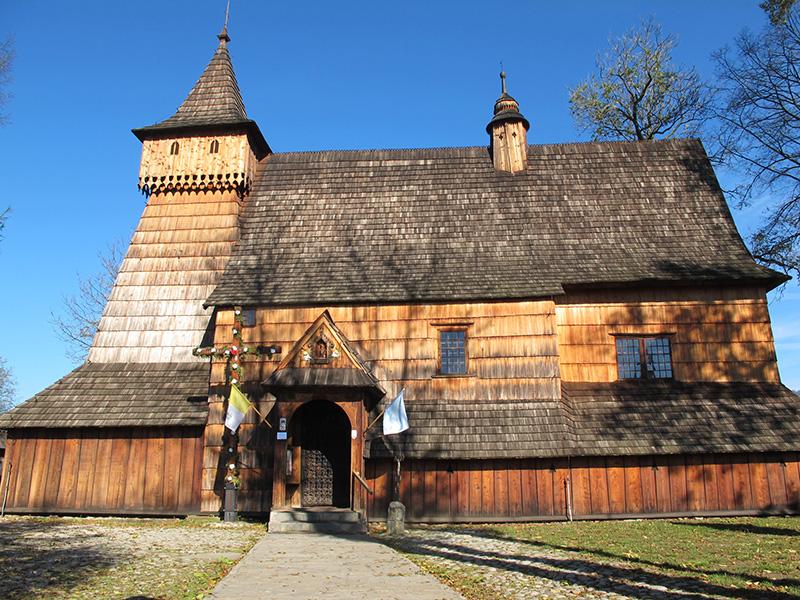Eglise en bois dans les Tatras