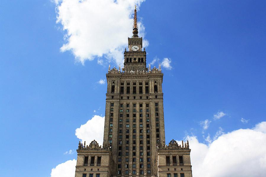 Dent de Staline à Varsovie en Pologne