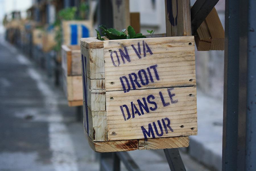 Art de rue d'Avignon