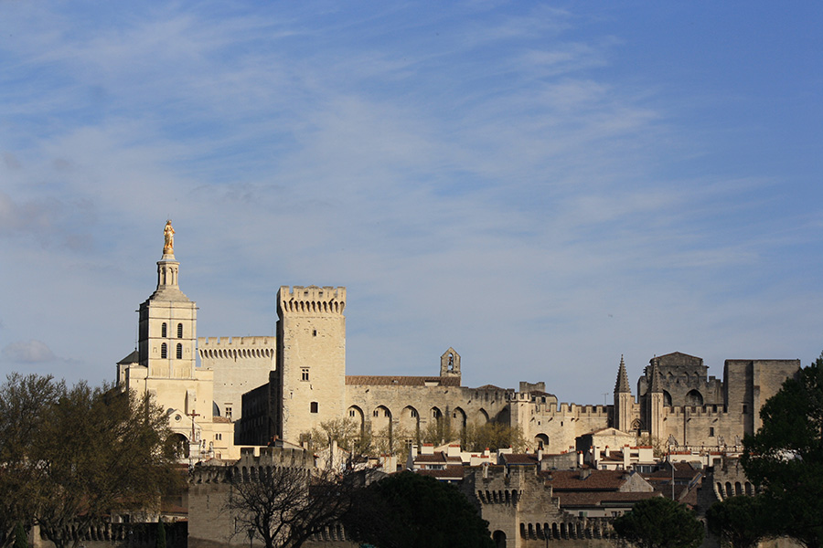 Tour du palais des Papes