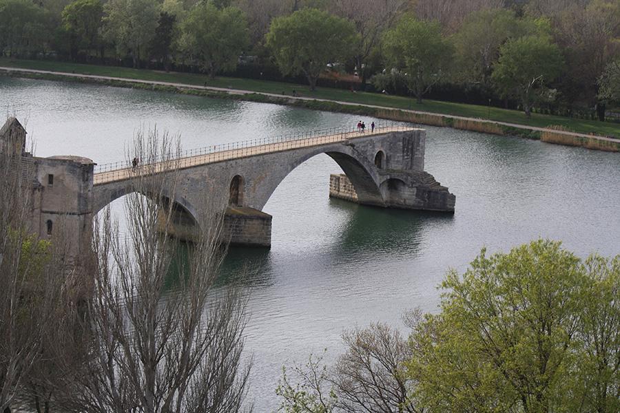 Arches du pont Saint-Bénézet