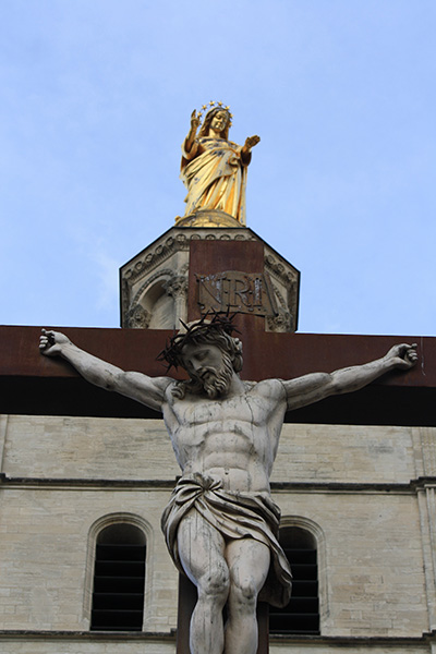 Jesus et saint vierge