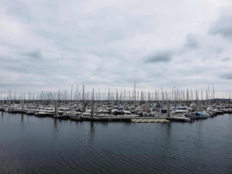 Port de plaisance à Brest