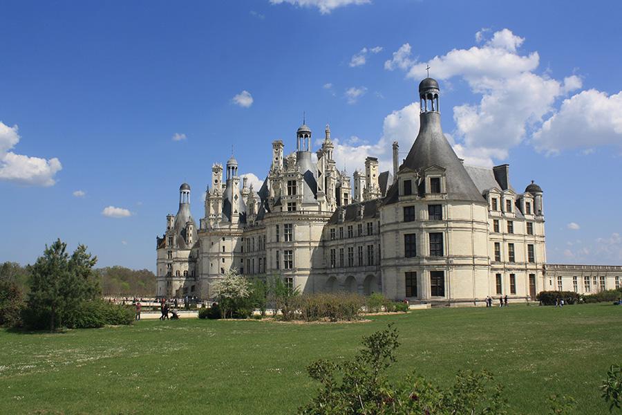 Chateau de Chambord sur la Loire