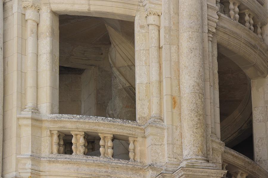 Escalier à double révolutions de Chambord