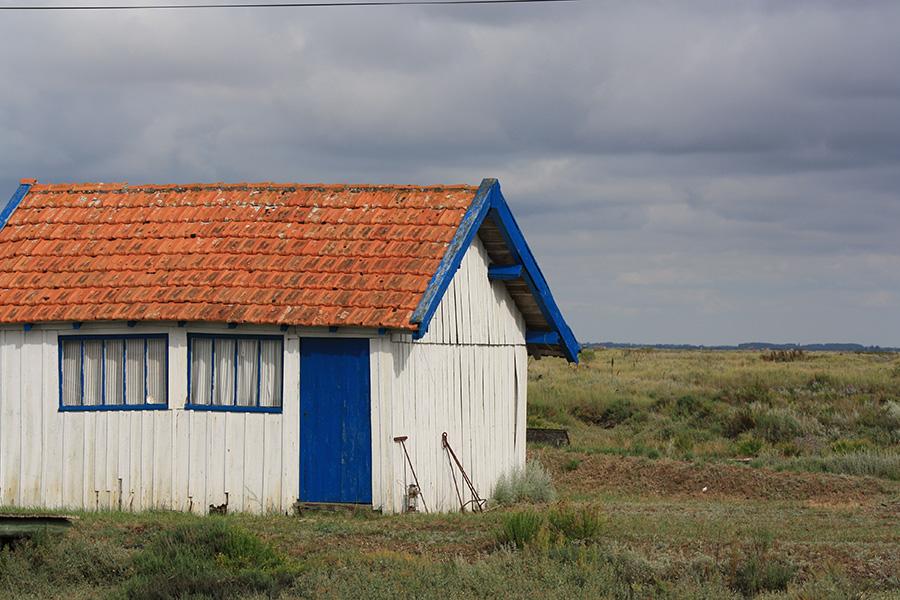 Cabane colorée de la Tremblade