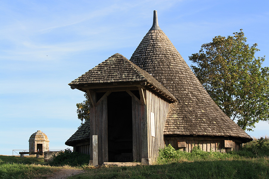 Eglise en bois de Brouage