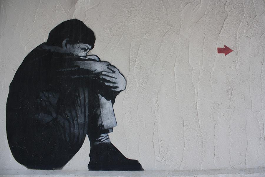 Street art en Corse de Jef Aerosol