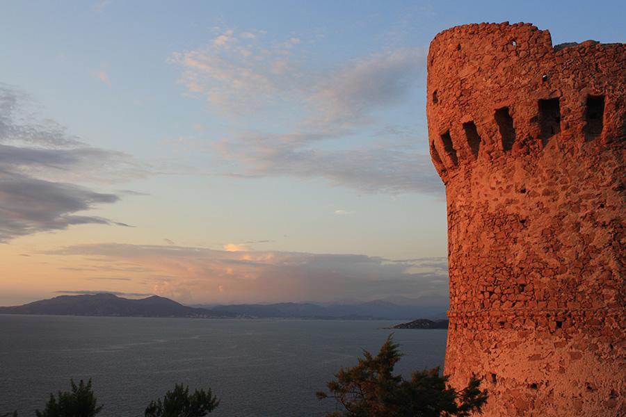 Tour génoise vers Porticcio