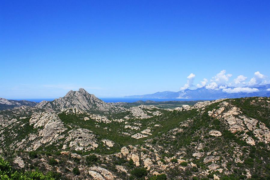 Corse - désert des Agriates
