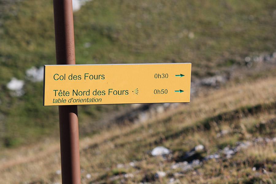 Tour du Mont Blanc - tête du four