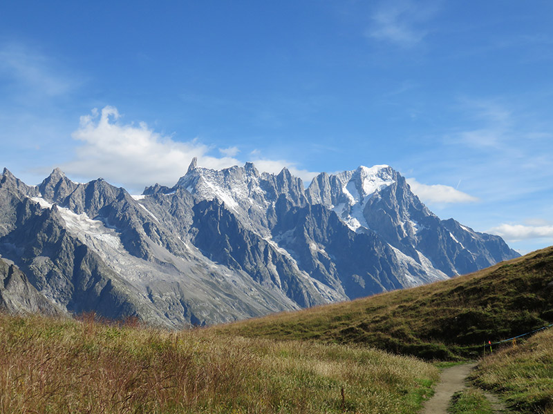 GR tour du mont blanc italie