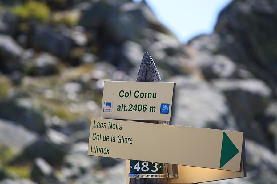 Vue depuis Chamonix