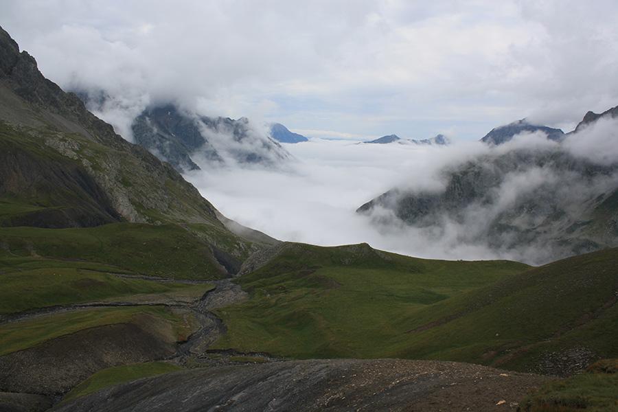 Panorama depuis le col de Vallopierre