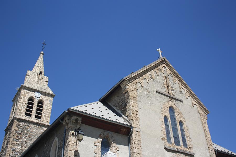 Eglise de Besse dans les Alpes