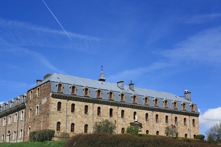 Abbaye des moines cisterciens trappistes