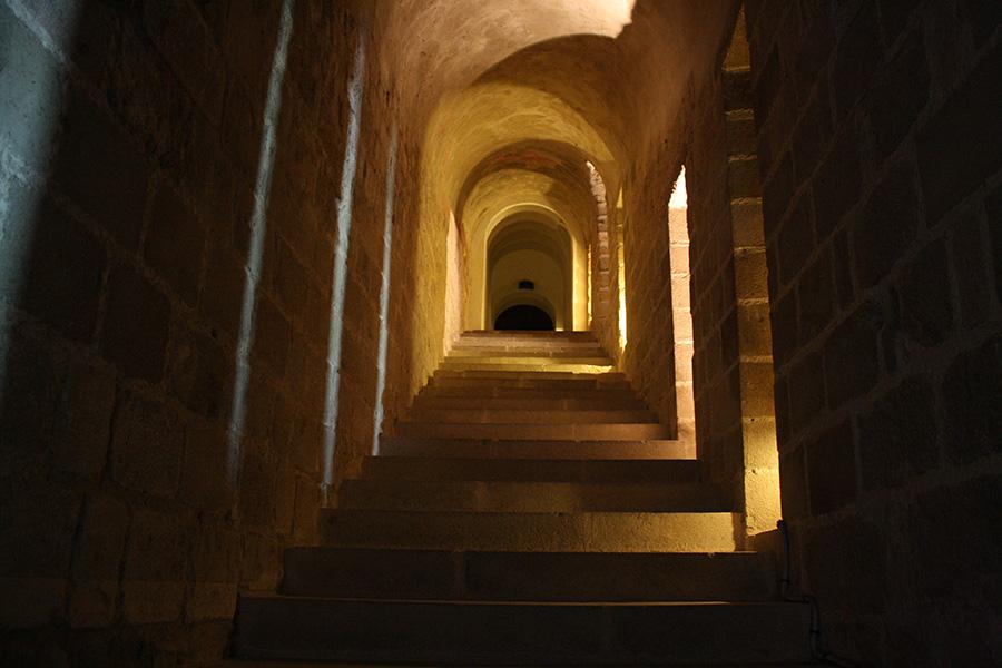 Salles des Chevaliers de l'abbaye