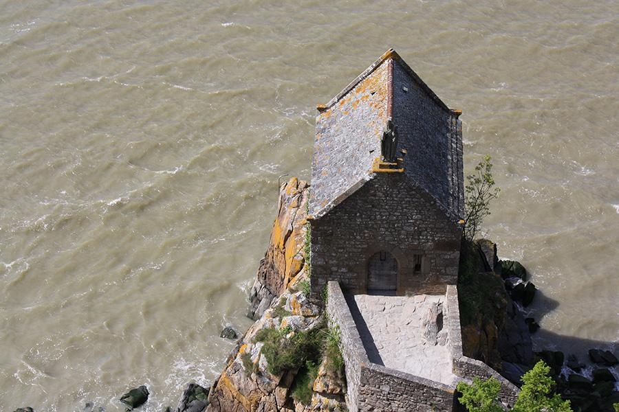 Tour de la forteresse du mont saint michel