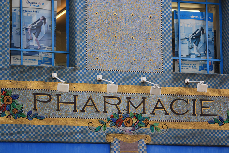 Pharmacie Art Nouveau à Nancy