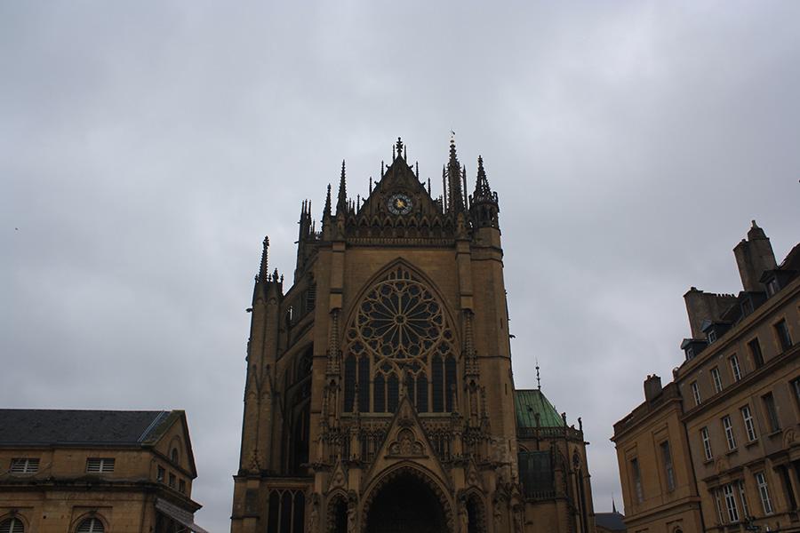 Face de la Cathédrale de Metz