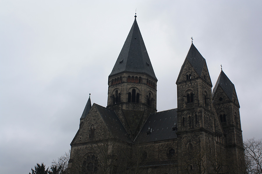 Metz et son temple neuf