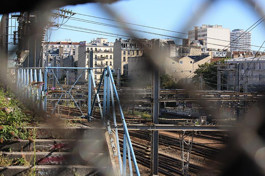 Rails Gare du Nord