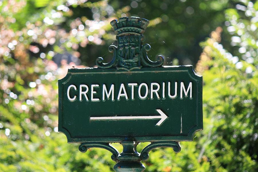 Vers le crématorium