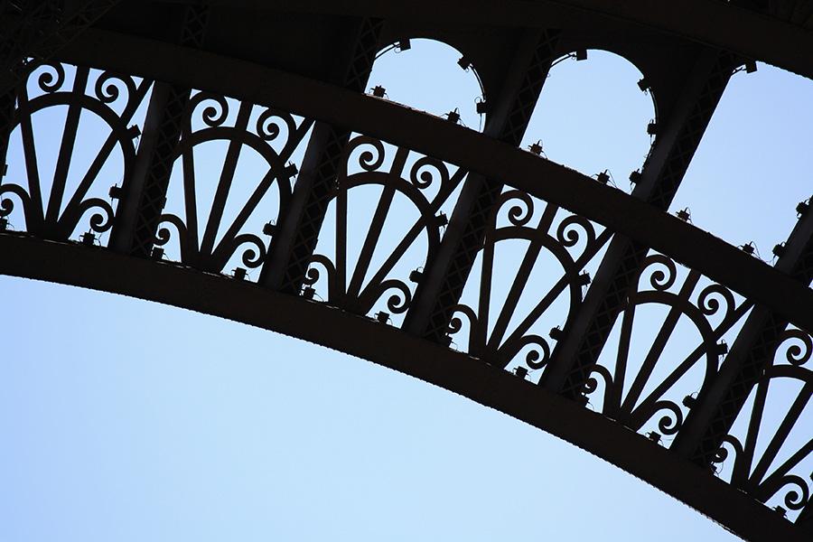 Arche de la tour eiffel