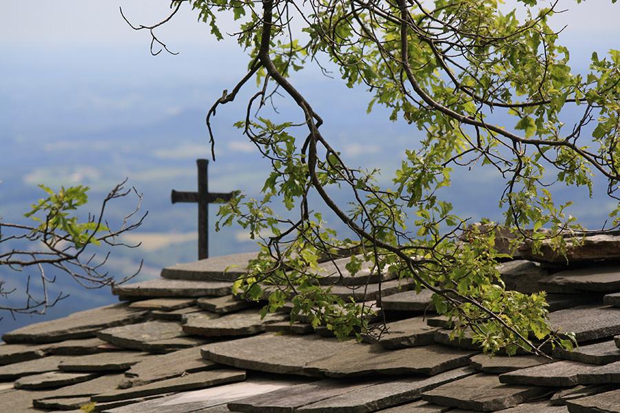 Chapelle sur la route vers la Rhune