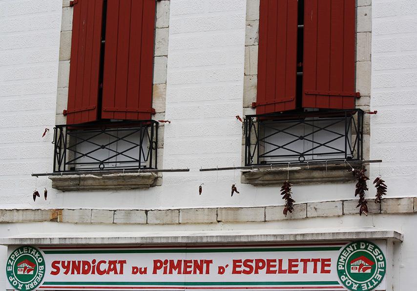 Anglet, syndicat du piment d'Espelette
