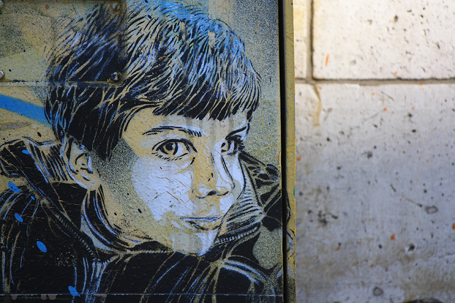 Enfant de Vitry par C215
