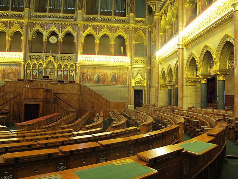 Le parlement vu de l'intérieur