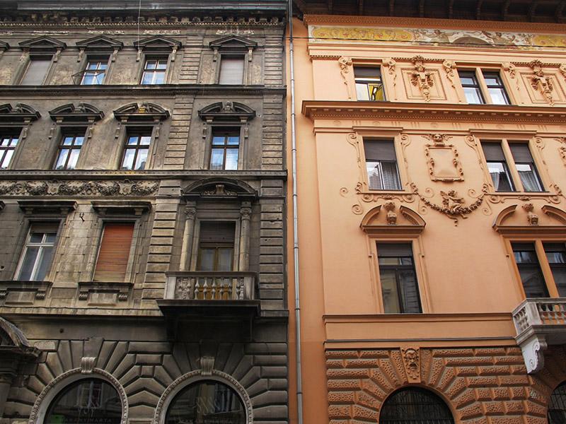 Architecture de Budapest