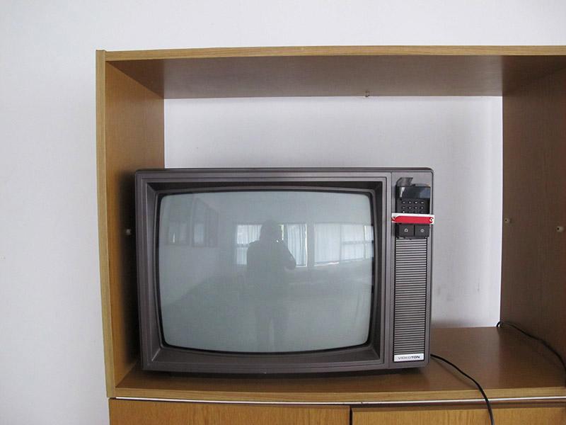 Salle TV d'un camping au Lac Balaton