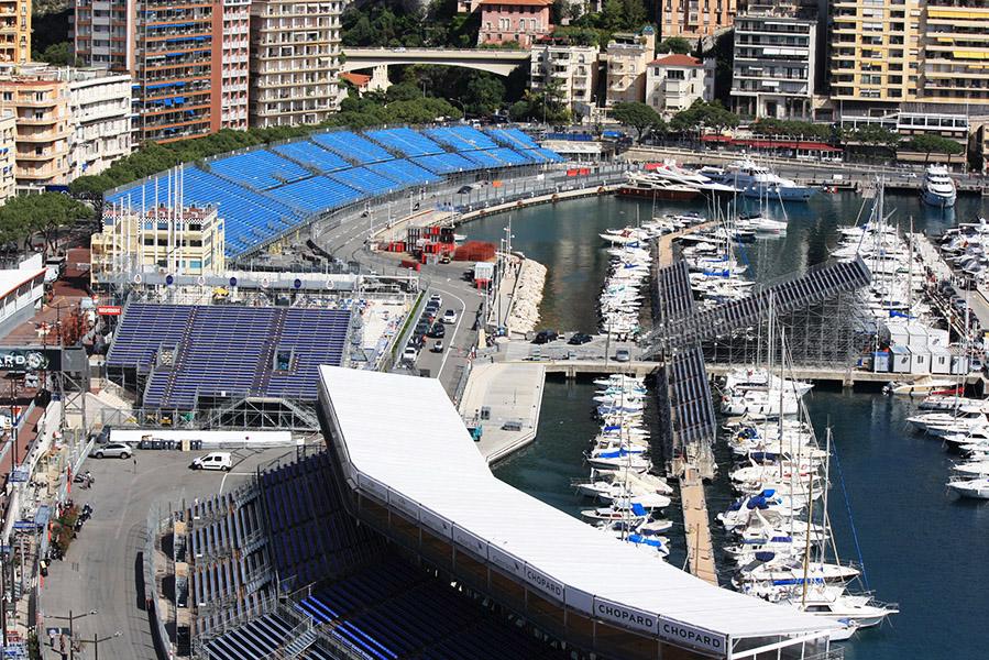 Circuit de F1 Monaco