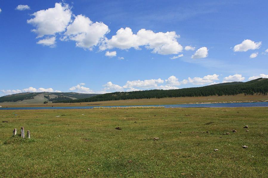 Mongolie déchets lac Khovsgol