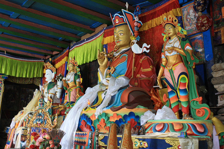 position d'argumentation du bouddha