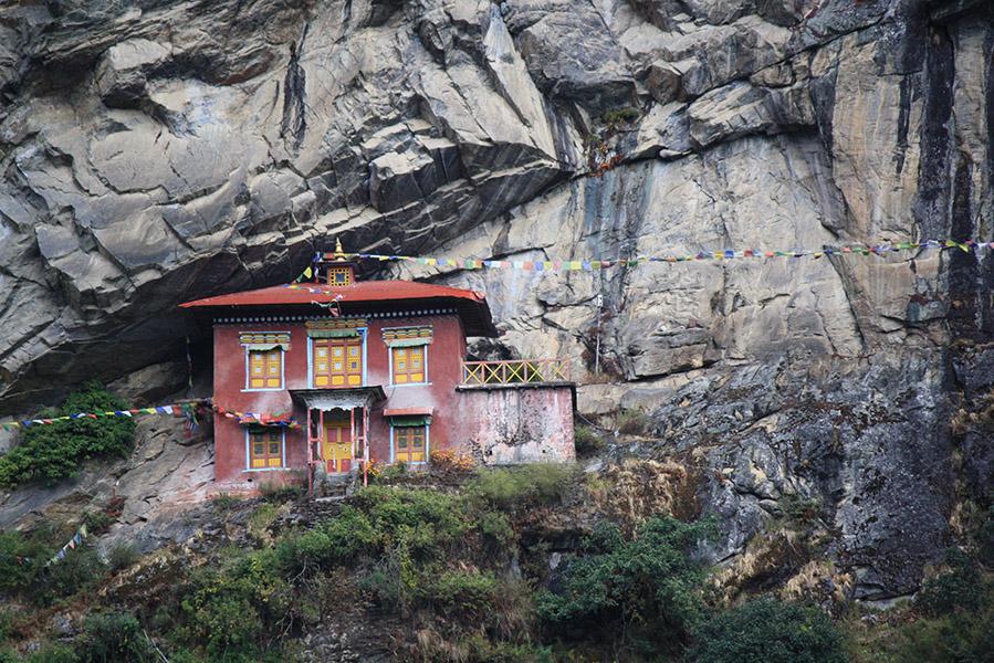 Monastere namche, nepal, everest