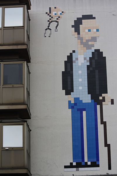 Invader, Docteur House