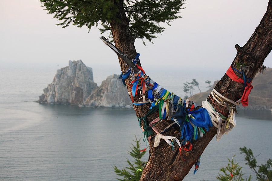 Ile d'Olkhon sur le lac Baikal
