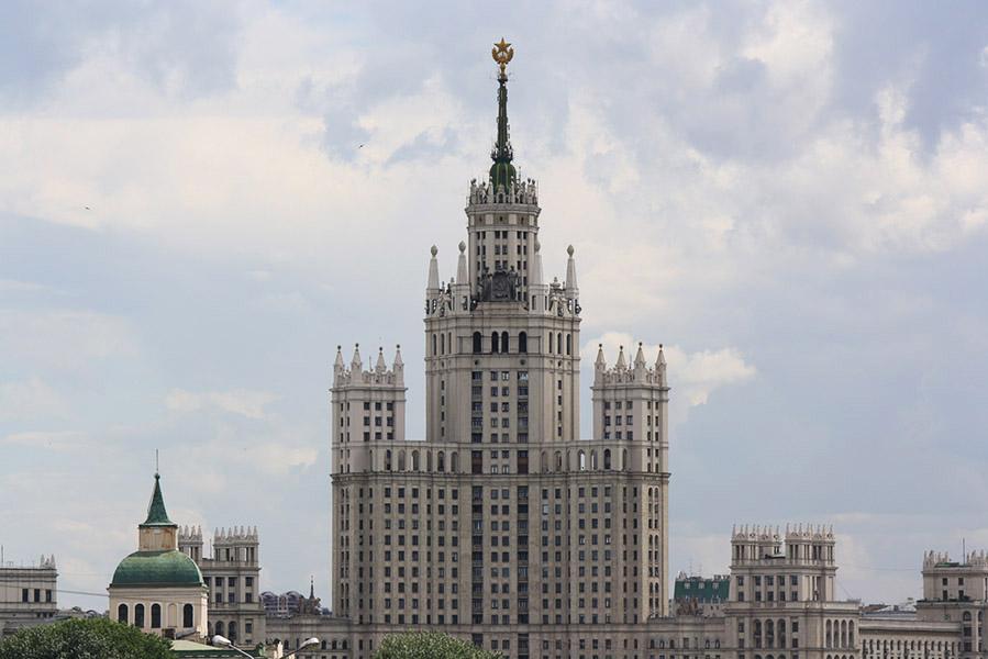 Les 7 soeurs ou dents de Staline à Moscou