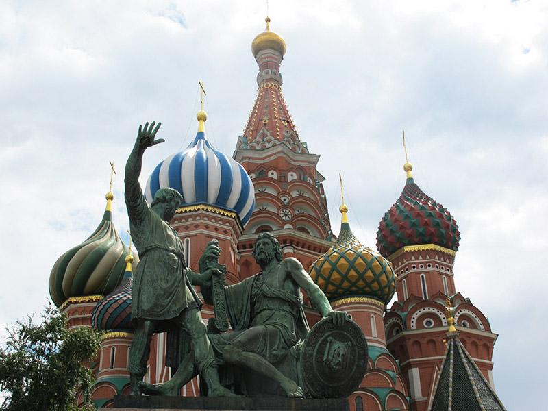 Cathédrale orthodoxe de Moscou : basile le bienheureux
