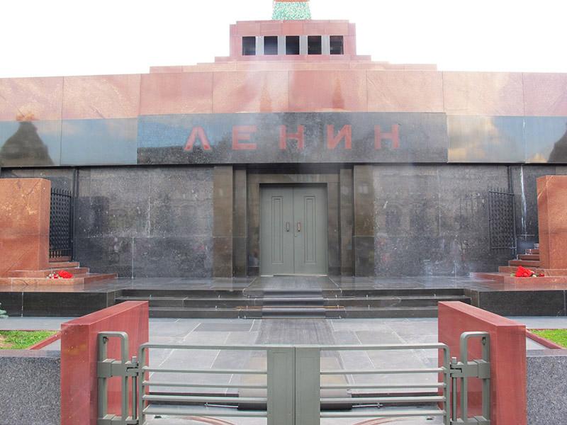 Moscou, mausolée de Lénine sur la place rouge