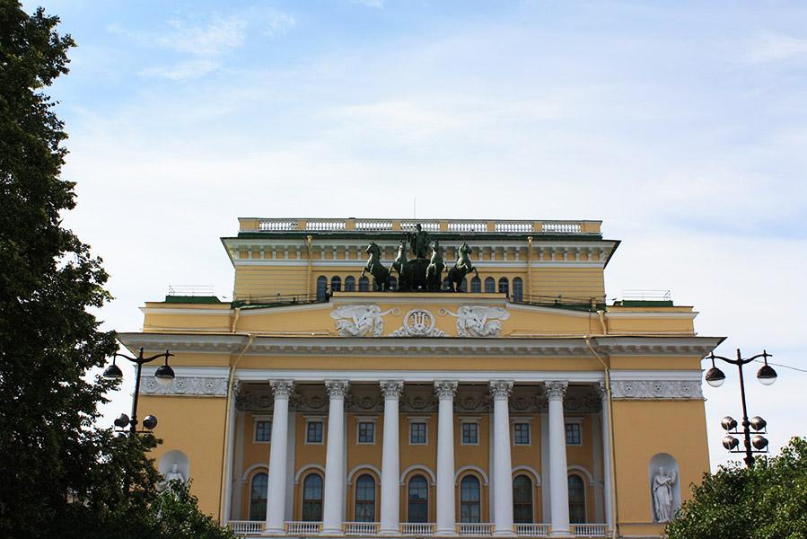 Théâtre Alexandra en Russie
