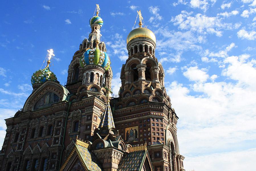 Saint Sauveur sur le Sang Versé, orthodoxie russe