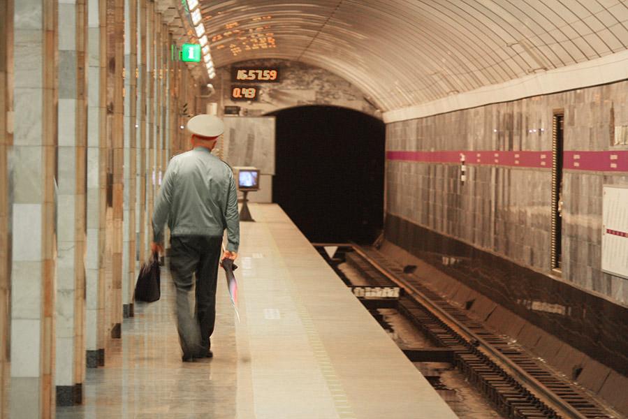 Metro de Saint Petersbourg