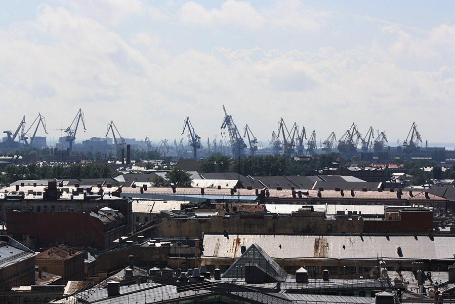 Les docks de Russie